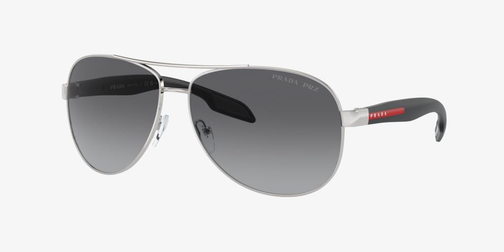 Prada Linea Rossa PS 53PS Grey Sunglasses