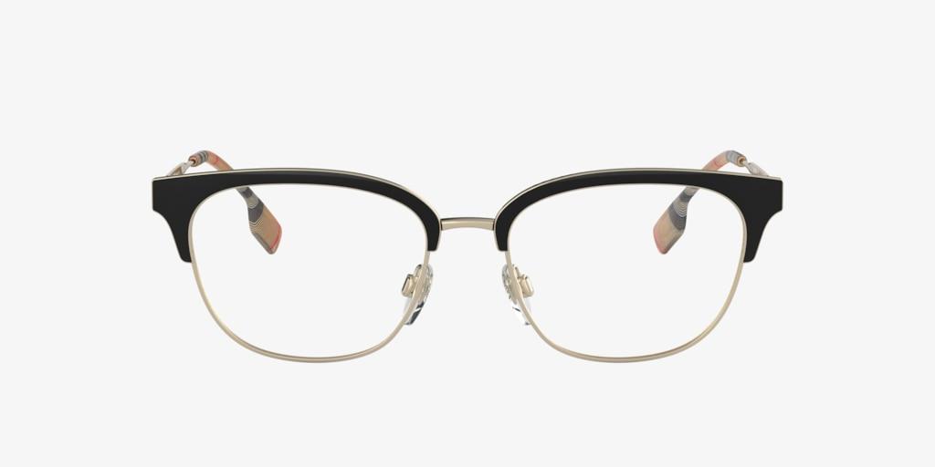 Burberry BE1334 Pale Gold/Black Eyeglasses