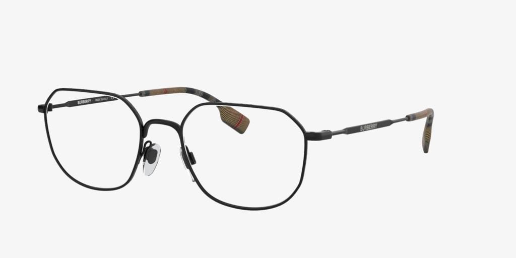 Burberry BE1335 Matte Black Eyeglasses