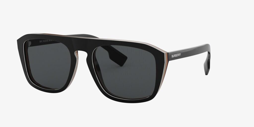 Burberry BE4286 55 Black Sunglasses