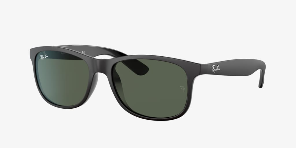 Ray-Ban RB4202 55 ANDY Matte Black On Black Sunglasses