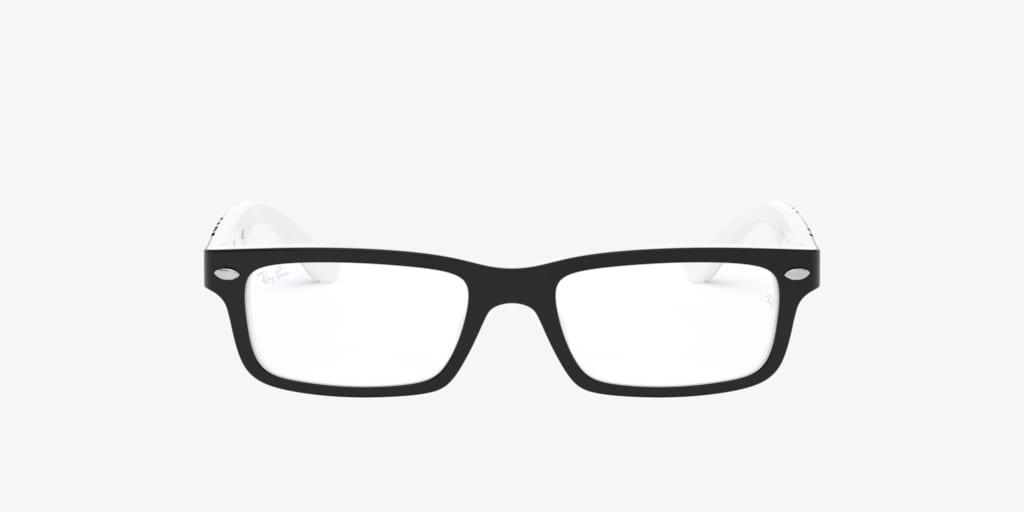 Ray-Ban Jr RY1535 Black On White Eyeglasses