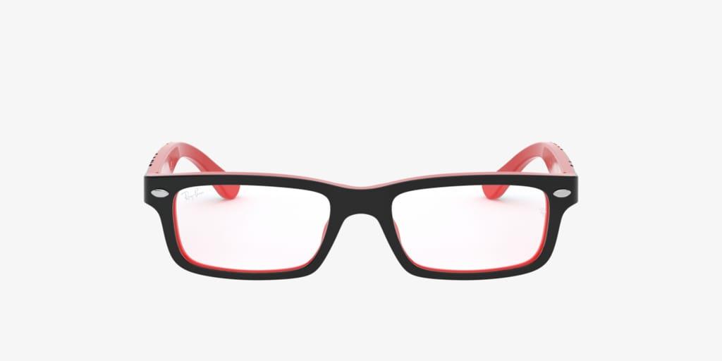 Ray-Ban Jr RY1535 Black On Red Eyeglasses