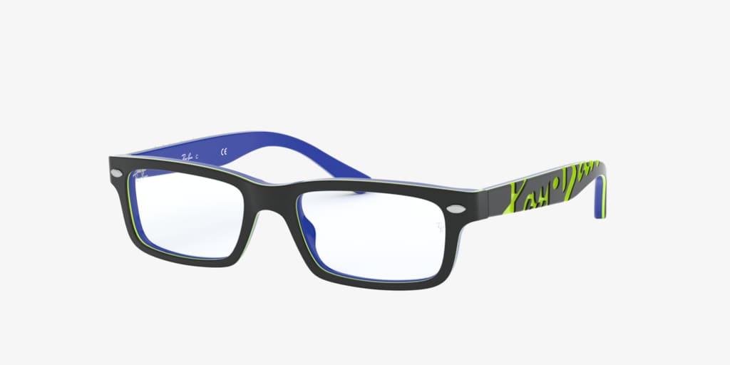 Ray-Ban Jr RY1535 Dark Grey On Blue Eyeglasses