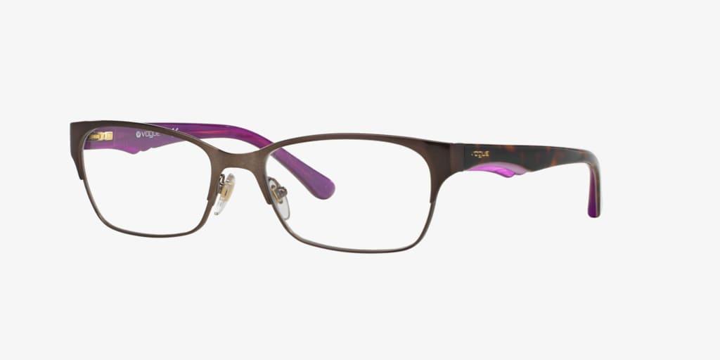 Vogue VO3918 Brushed Brown Eyeglasses