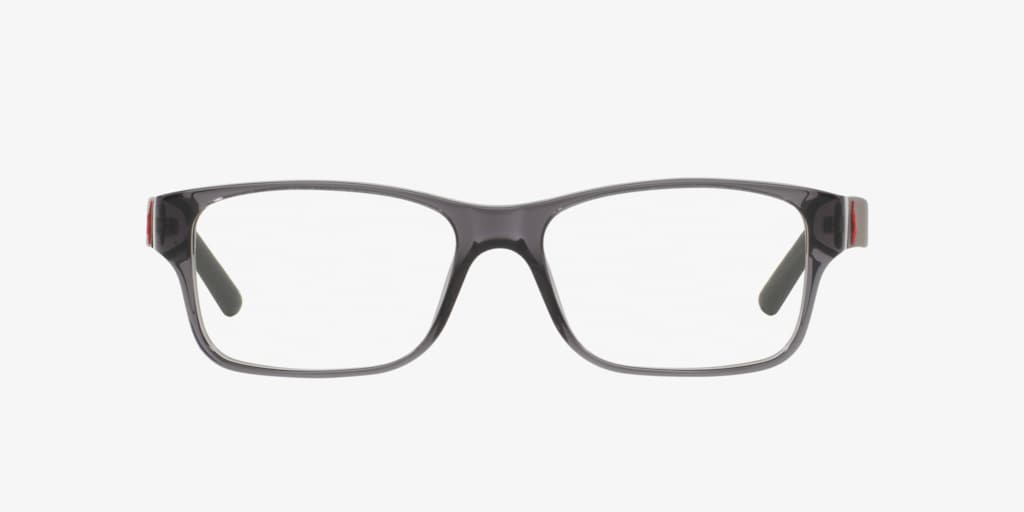 Polo Ralph Lauren PH2117 Shiny Transparent Grey Eyeglasses