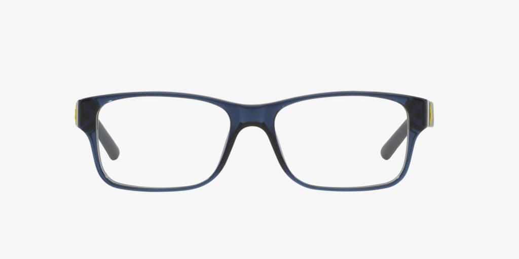 Polo Ralph Lauren PH2117 Shiny Transparent Blue Eyeglasses