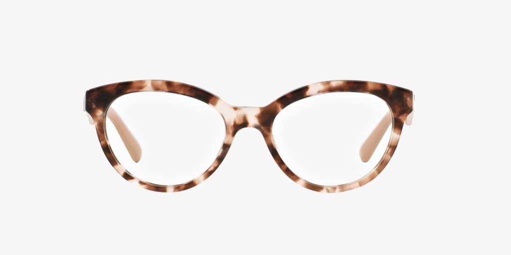 Prada PR 11RV Pink Havana Eyeglasses