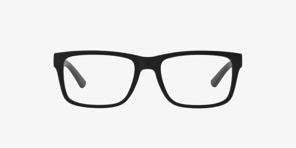 Armani Exchange AX3016 Matte Black Eyeglasses