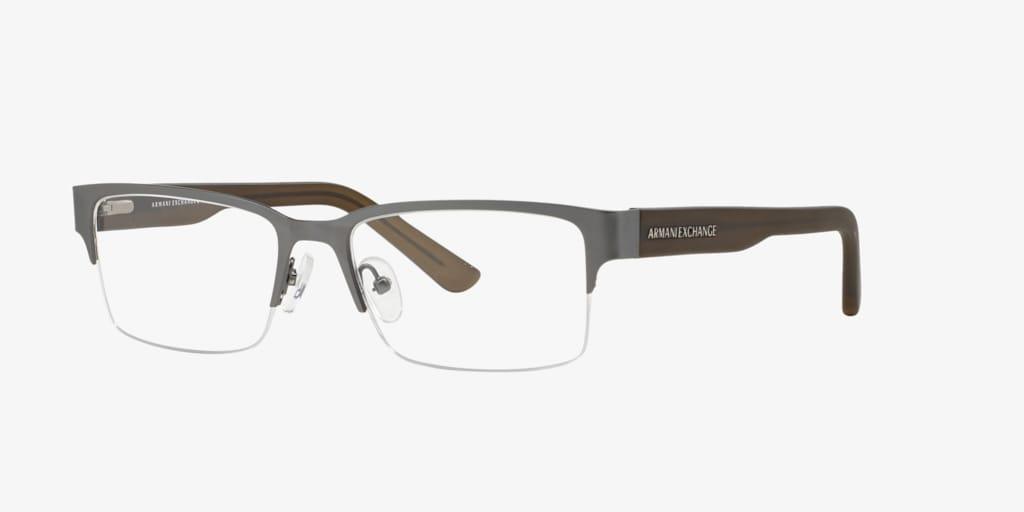 Armani Exchange AX1014 Matte Gunmetal Eyeglasses