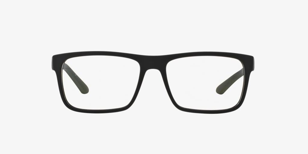 Giorgio Armani AR7042 Black Rubber Eyeglasses