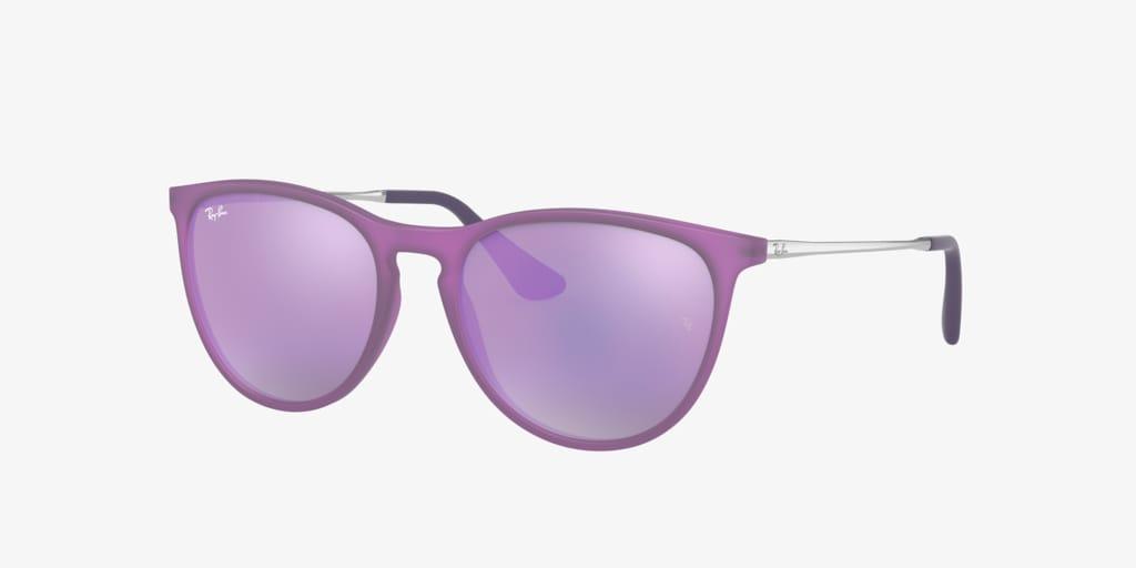 Ray-Ban Jr RJ9060S 50 JUNIOR ERIKA Violet Fluo Sunglasses