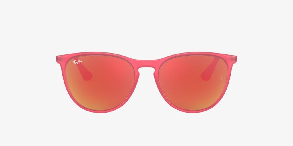 Ray-Ban Jr RJ9060S 50 JUNIOR ERIKA Fuchsia Transparent Sunglasses