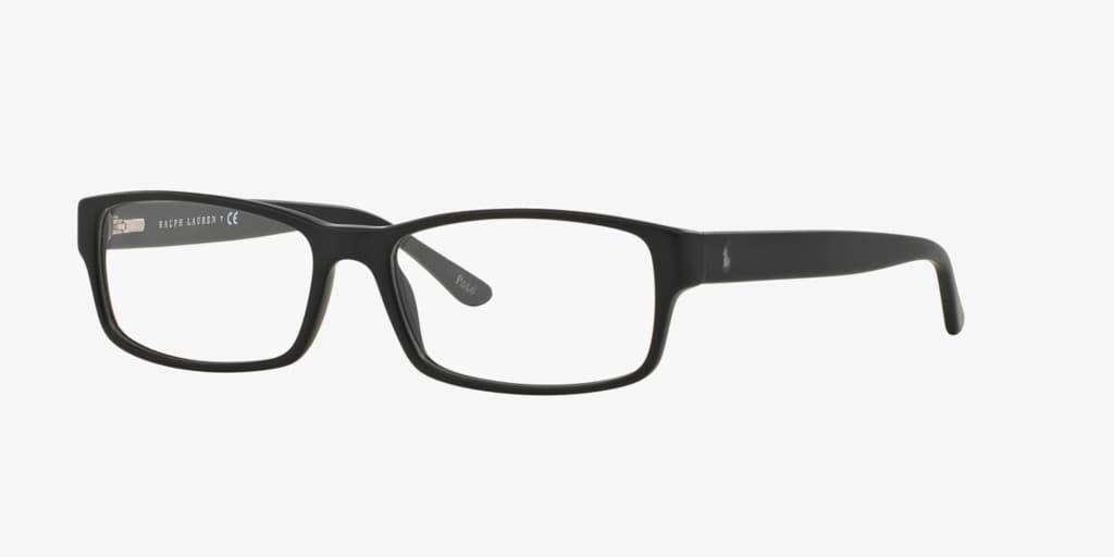 Polo Ralph Lauren PH2065 Matte Black Eyeglasses