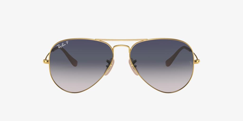 Ray-Ban RB3025 58 ORIGINAL AVIATOR Gold Sunglasses
