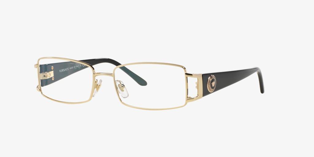Versace VE1163M Pale Gold Eyeglasses