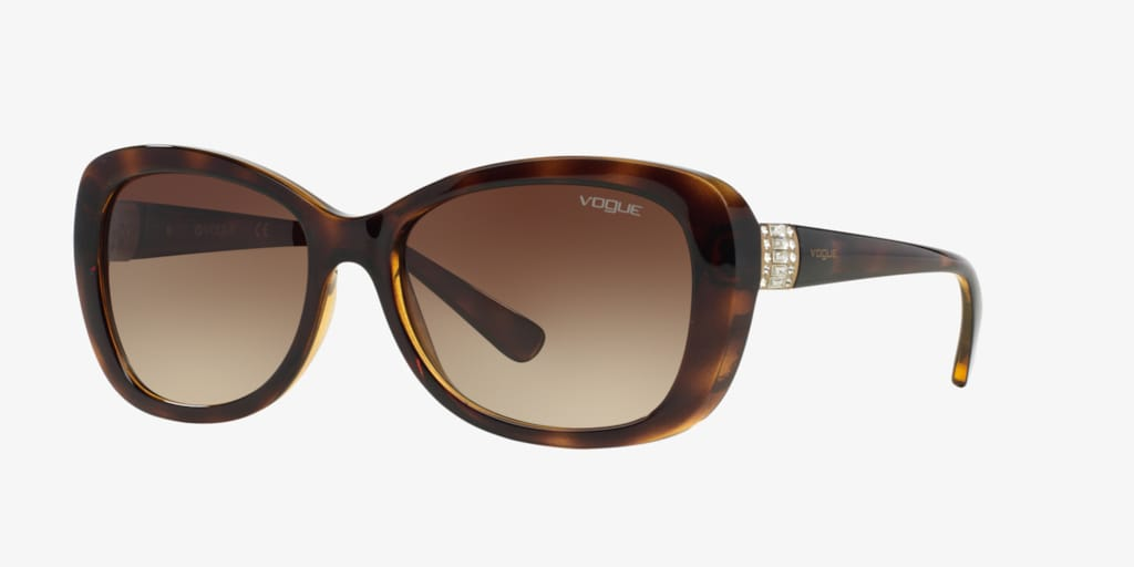 Vogue VO2943SB 55 Dark Havana Sunglasses
