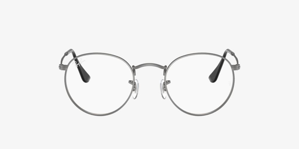 Ray-Ban RX3447V ROUND METAL Matte Gunmetal Eyeglasses