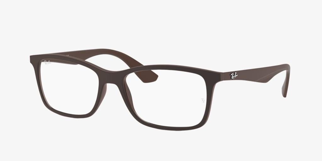 Ray-Ban RX7047 Brown Eyeglasses
