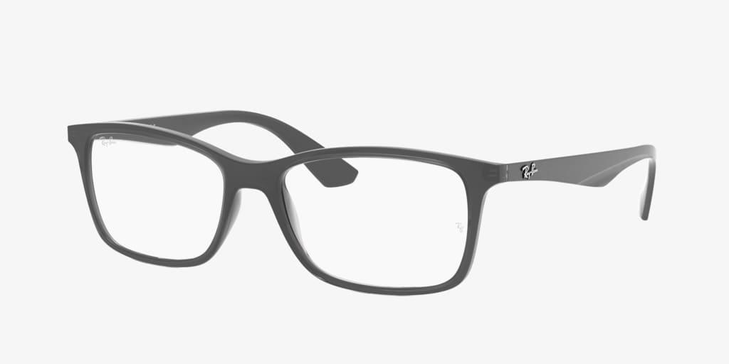 Ray-Ban RX7047 Matte Transparent Grey Eyeglasses