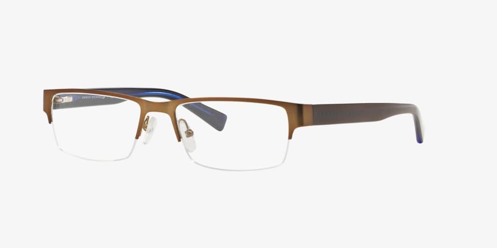Armani Exchange AX1015 Matte Brown Eyeglasses
