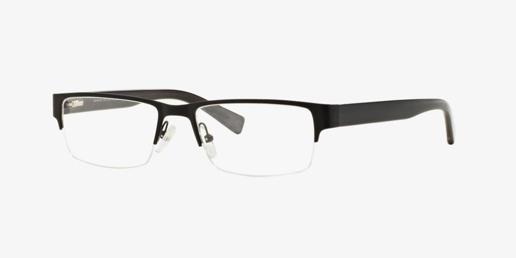Armani Exchange AX1015 Matte Black Eyeglasses