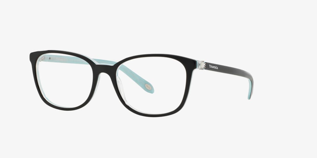 Tiffany TF2109BF Black On Tiffany Blue Eyeglasses