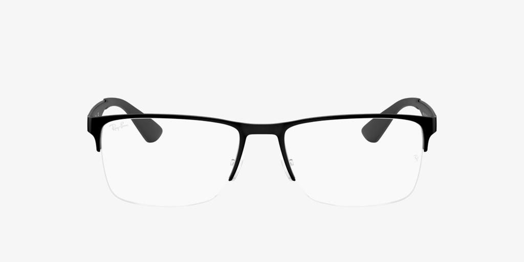 Ray-Ban RX6335 Matte Black Eyeglasses