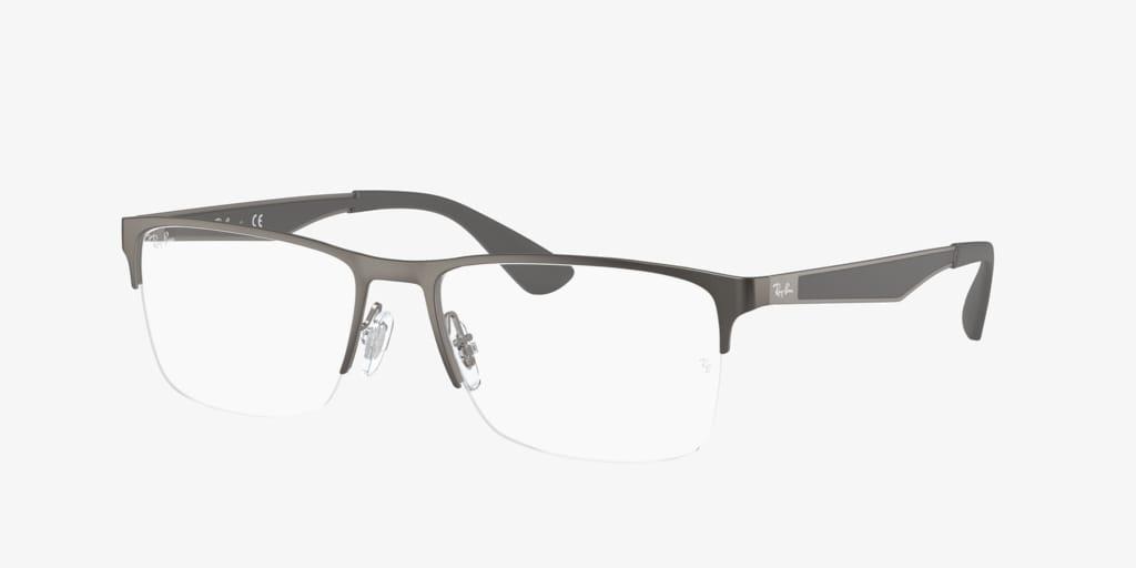 Ray-Ban RX6335 Matte Gunmetal Eyeglasses