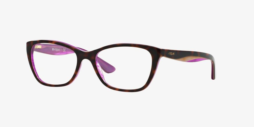 Vogue VO2961 Havana/Lilac/Violet Eyeglasses