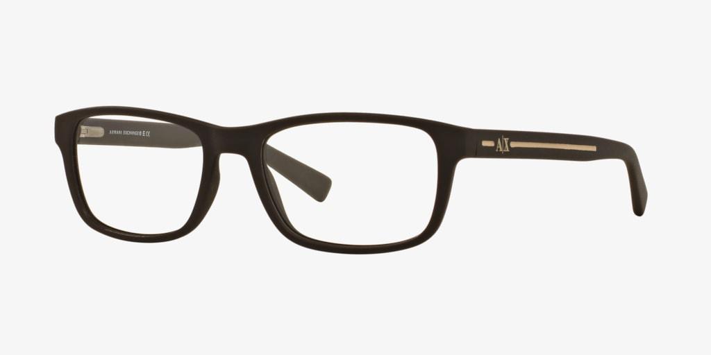 Armani Exchange AX3021 Matte Brown Eyeglasses