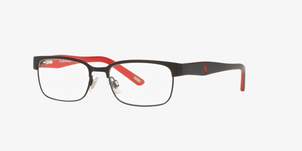 Polo Prep PP8036 Matte Black Eyeglasses