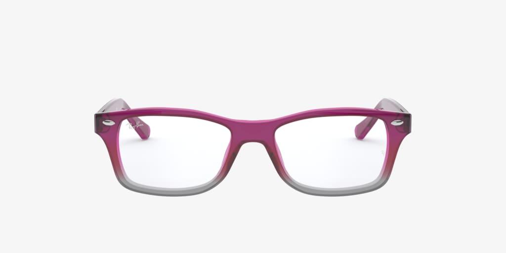 Ray-Ban Jr RY1531 Fuchsia Gradient Grey Eyeglasses