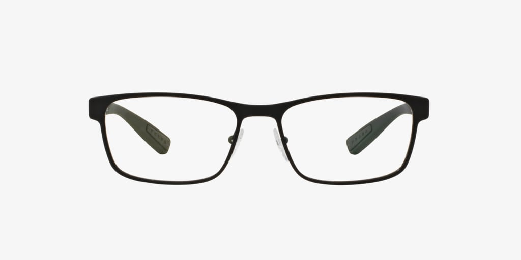Prada Linea Rossa PS 50GV LIFESTYLE Black Rubber Eyeglasses