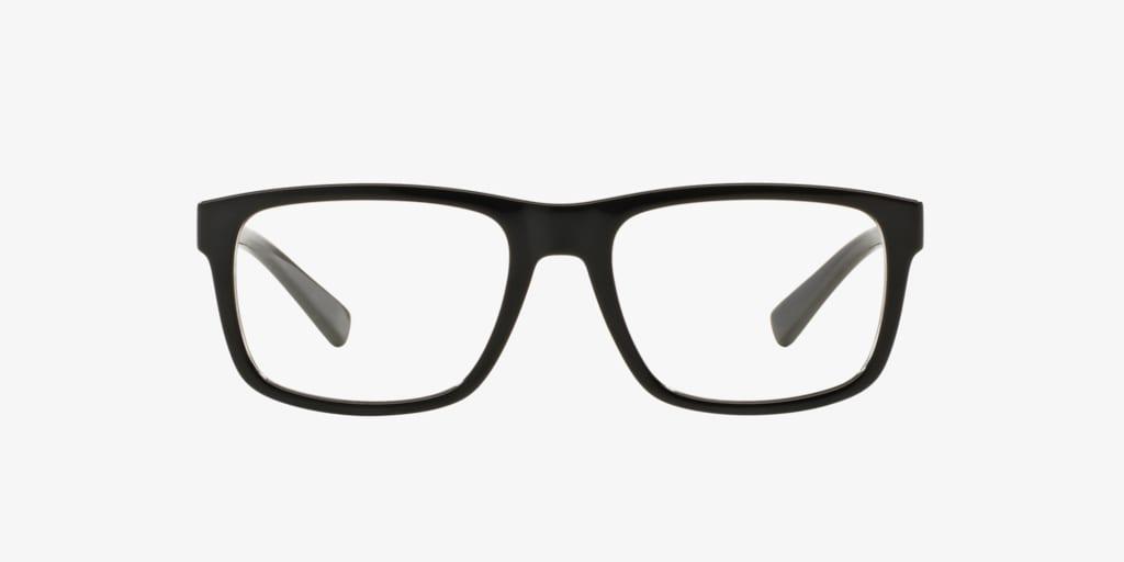 Armani Exchange AX3025 Shiny Black Eyeglasses