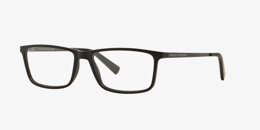 Armani Exchange AX3027 Matte Black Eyeglasses