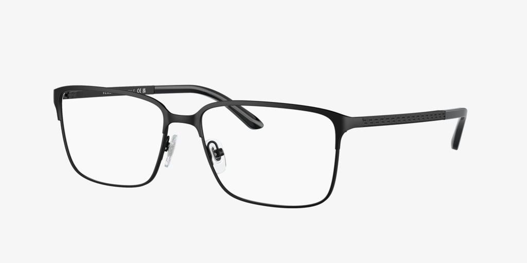 Versace VE1232 Matte Black Eyeglasses