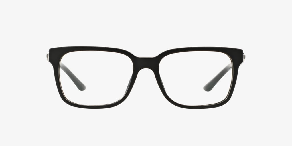 Versace VE3218 Matte Black Eyeglasses