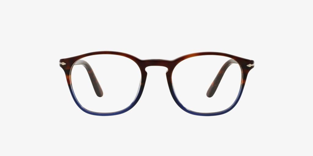Persol PO3007V Brown/Blue Eyeglasses