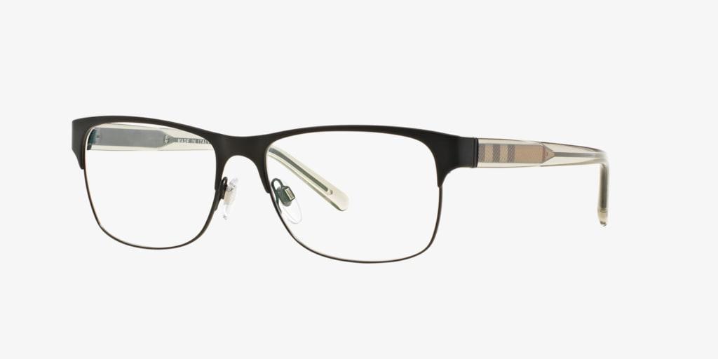 Burberry BE1289 Matte Black Eyeglasses