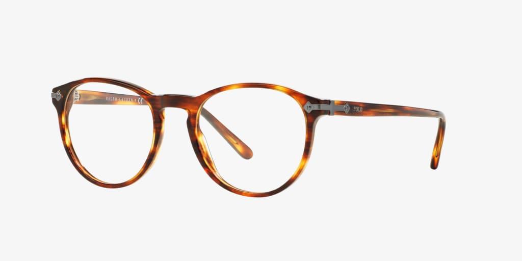 Polo Ralph Lauren PH2150 Shiny Striped Havana Eyeglasses