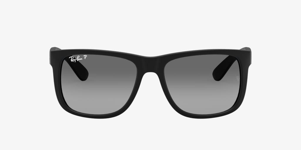Ray-Ban RB4165 55 JUSTIN Black Sunglasses