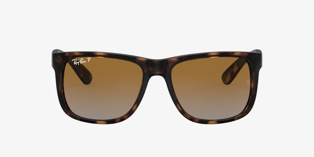 Ray-Ban RB4165 55 JUSTIN Rubber Havana Sunglasses