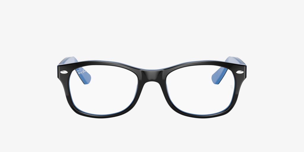 Ray-Ban Jr RY1528 Black On Azure Eyeglasses