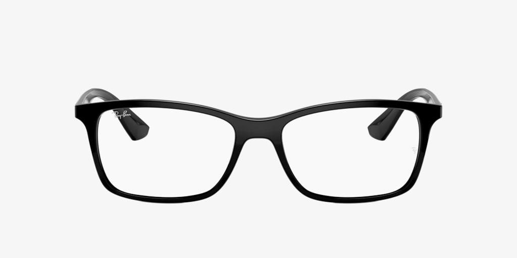 Ray-Ban RX7047 Black Eyeglasses