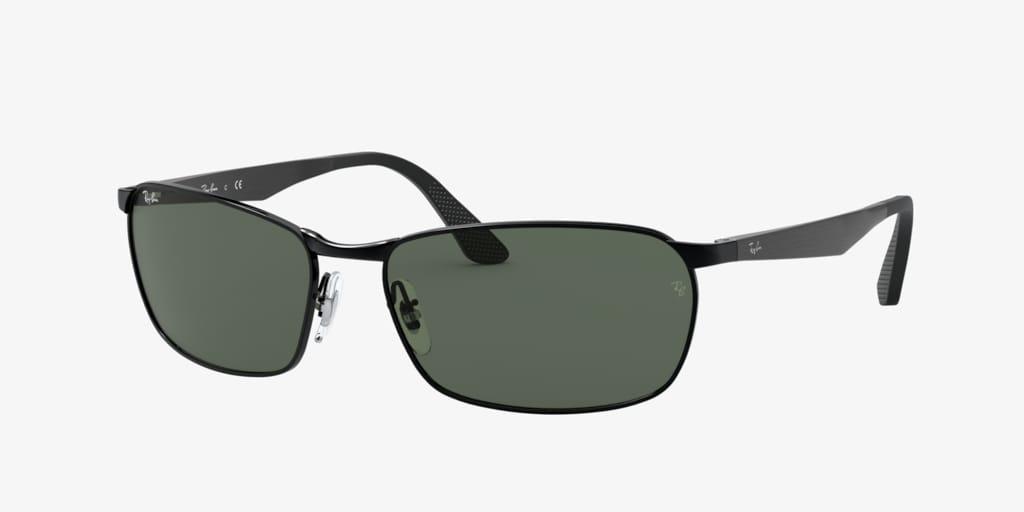 Ray-Ban RB3534 59 Black Sunglasses
