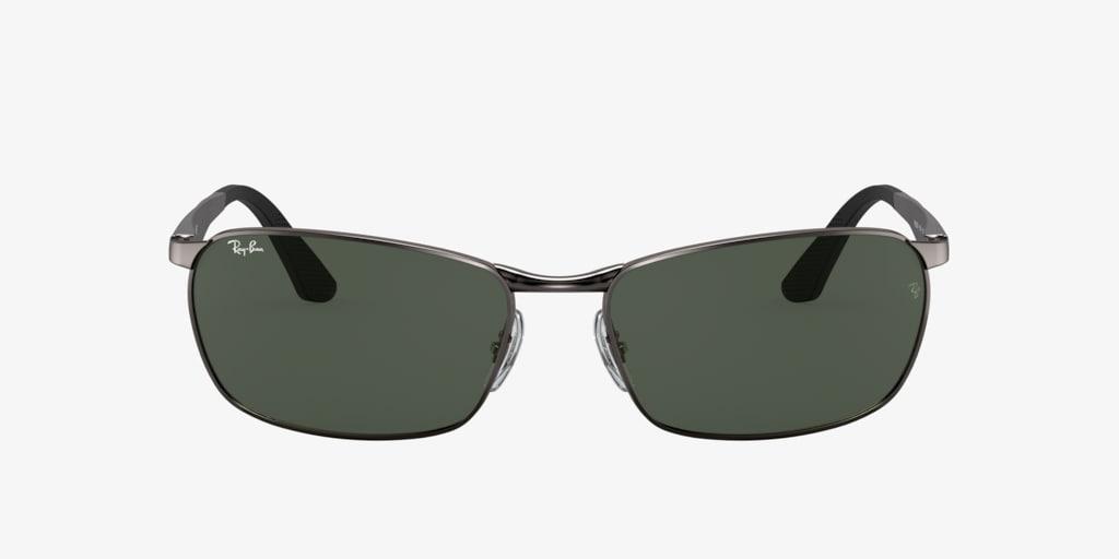 Ray-Ban RB3534 59 Gunmetal Sunglasses