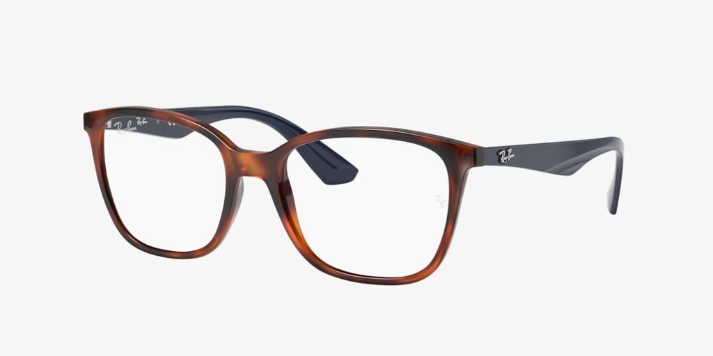 Ray-Ban RX7066 Tortoise Eyeglasses