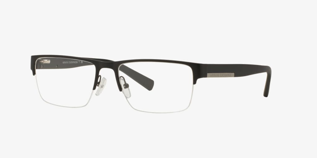 Armani Exchange AX1018 Matte Black Eyeglasses