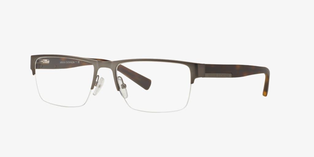 Armani Exchange AX1018 Matte Gunmetal Eyeglasses